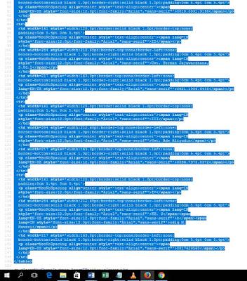 Cara Simpel Membuat Tabel Pada Artikel (Postingan) Blog
