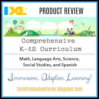 IXL Learning {Product Review}