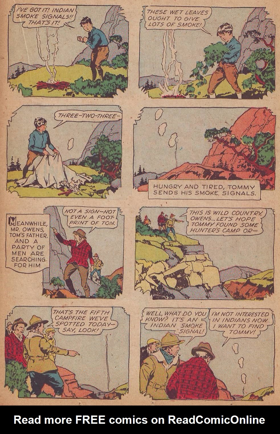 Read online Animal Comics comic -  Issue #8 - 31
