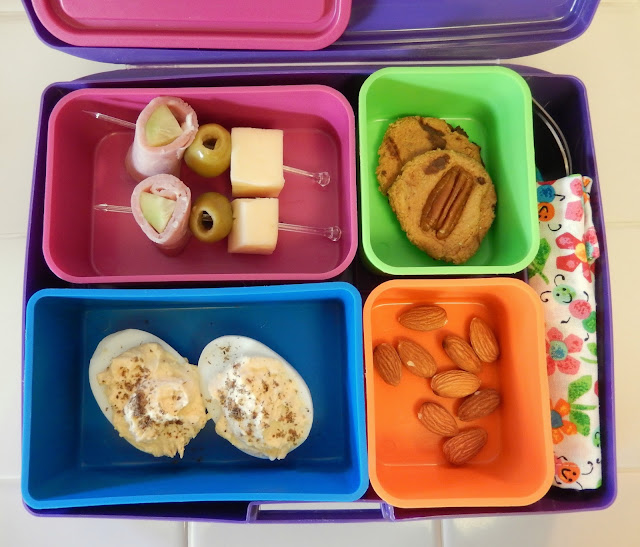 Cold%2BCut%2BSkewers%2BHummus%2BDeviled%2BEgg%2BBento Weight Loss Recipes Bento Box Bonanza