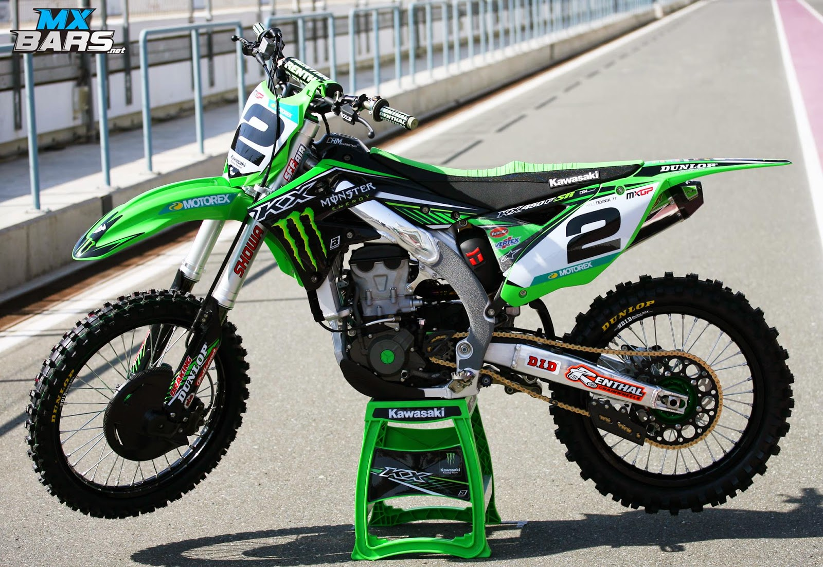 Racing Cafè: Kawasaki KX-450F R.Villopoto Team Monster ...