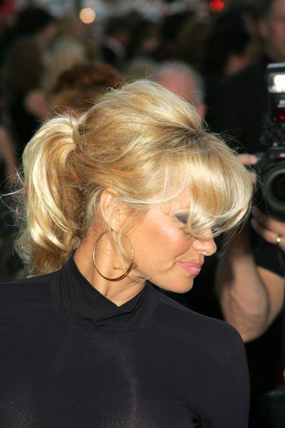 Hair Style Of Celebrity Pamela Anderson Hair