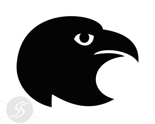 adesivos decorativos animais cabeca aguia - 20 Adesivos decorativos de animais para decorar o seu ambiente