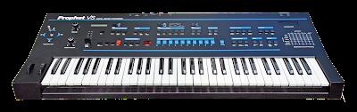 El innovador sintetizador vectorial de Sequential Prophet VS (1986).