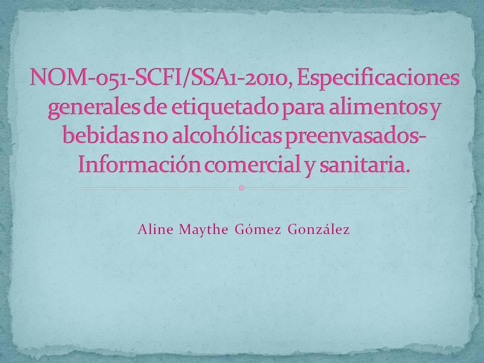Nom 051 scfi 1994 pdf995