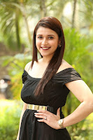 Mannara Chopra in Short Off Shoulder Black Dress ~  Exclusive 067.JPG