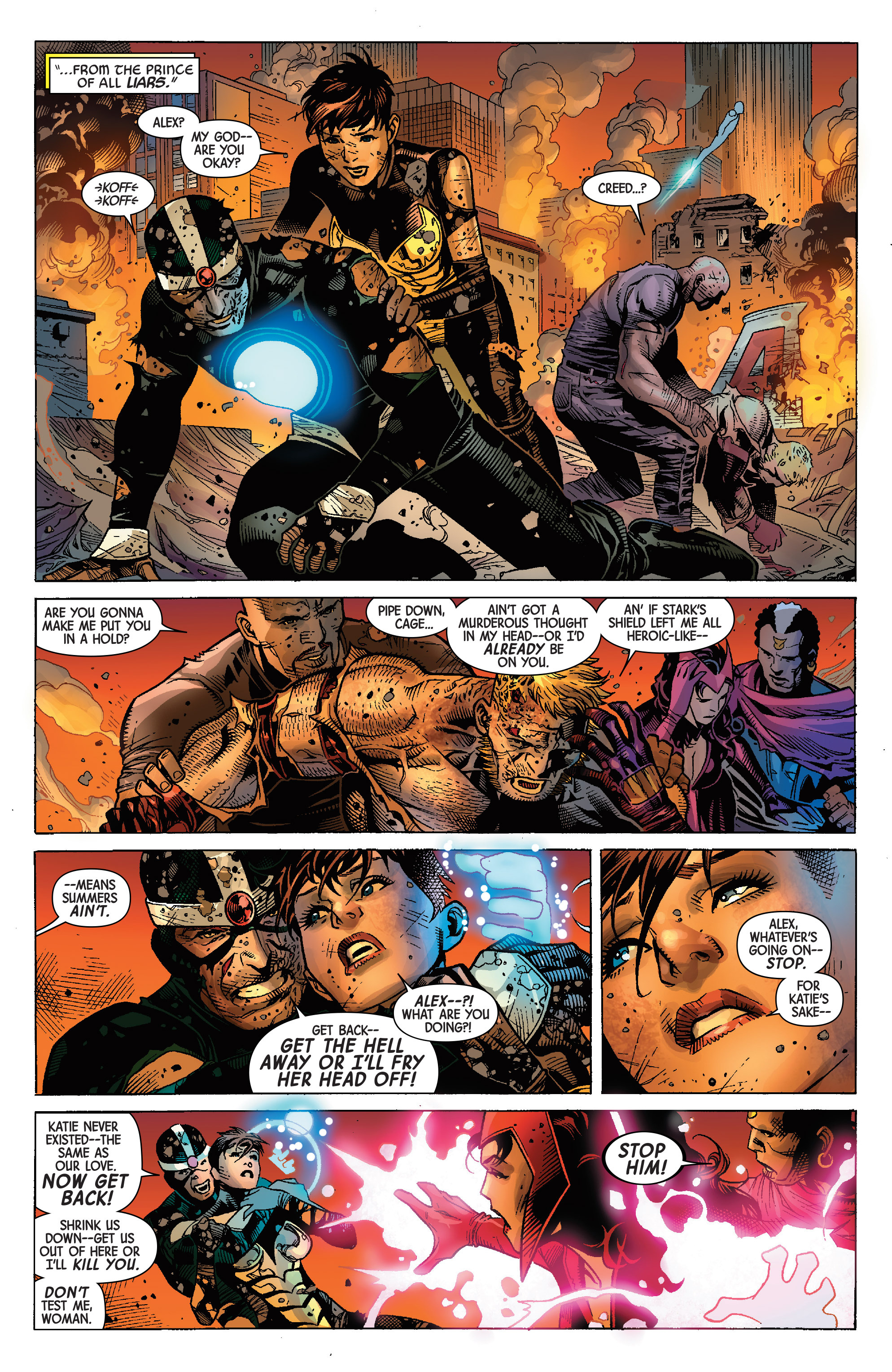 Read online Avengers & X-Men: AXIS comic -  Issue #9 - 33