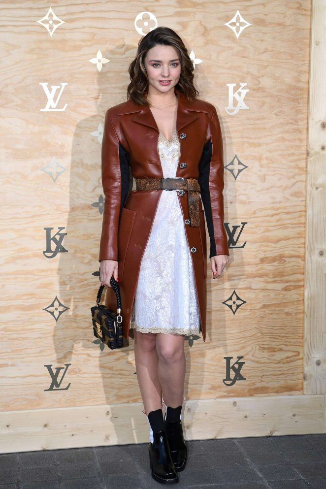 Miranda Kerr goes gorgeous for the Louis Vuitton launch in Paris