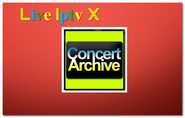 Concert Archive Music addon