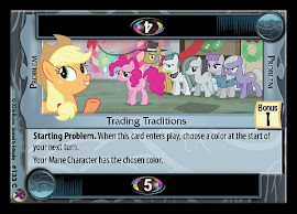 My Little Pony Trading Traditions Marks in Time CCG Card