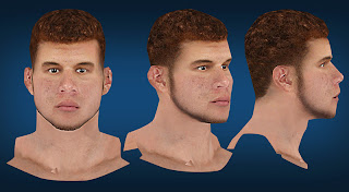 NBA 2K13 Blake Griffin Cyberface NBA2K Mods