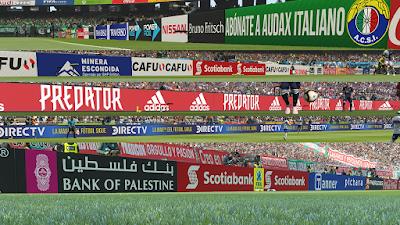 PES 2019 Adboards Chilean League Campeonato Scotiabank Season 2018/2019
