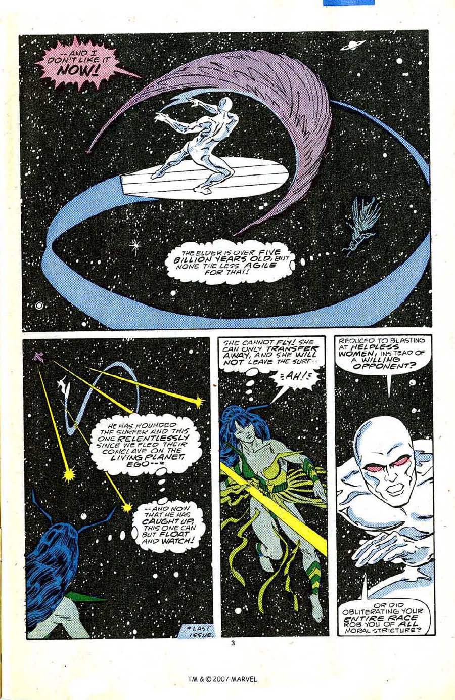 Read online Silver Surfer (1987) comic -  Issue #5 - 5