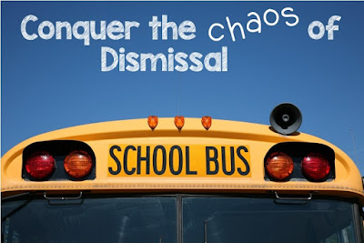 FREE. Use as a visual for students to remember the procedures for dismissal