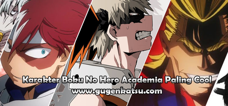 karakter boku no hero academia paling cool | top coolest boku no hero academia characters
