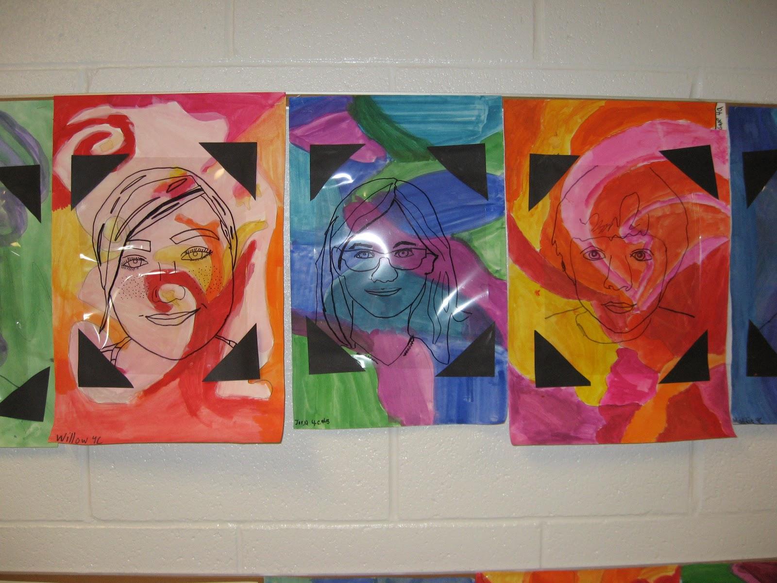 Jamestown Elementary Art Blog 4th Grade Mary Cassatt Self Portraits