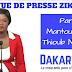 Revue de presse Zik fm du Samedi 24 février 2018 par Mantoulaye Thioub Ndoye