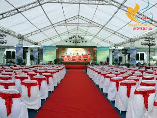 Cho thuê nhà bạt sự kiện giá rẻ nhất tại Nghệ An