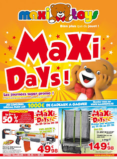 Catalogue Maxi Toys 29 Mai au 25 Juin 2017