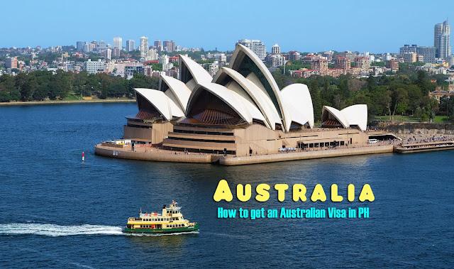 Australian Tourist Visa Application Process