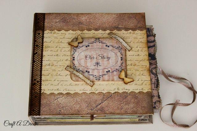 scrapbook-düğün-albümü