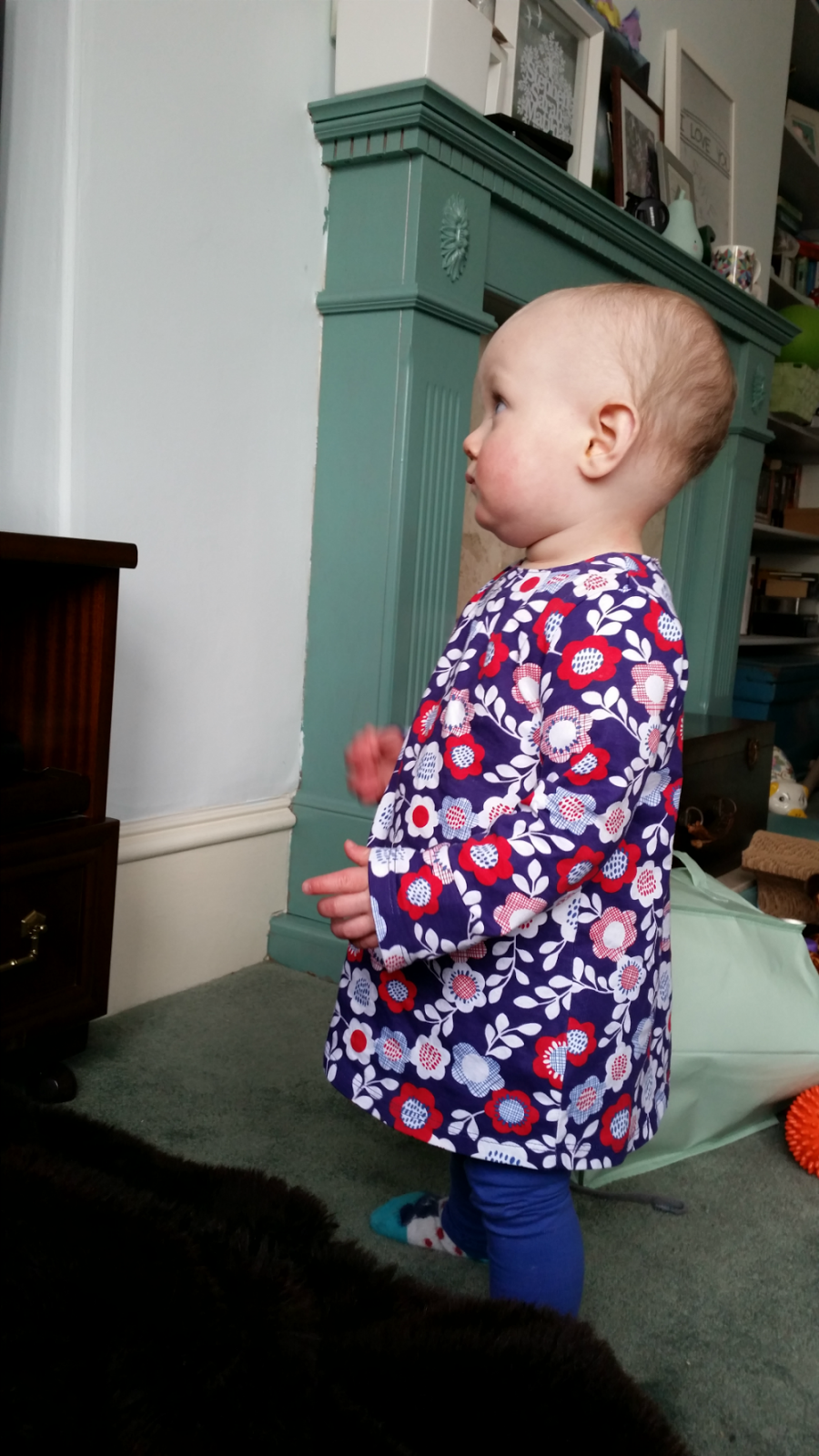 Toddler Togs: Floral tunic