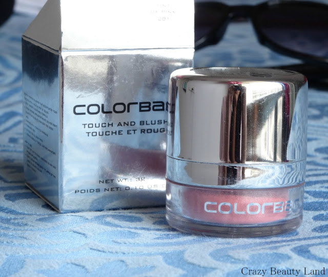 ColorBar Touch and Blush in Tint of Pink Review Swatches Price Availability in India