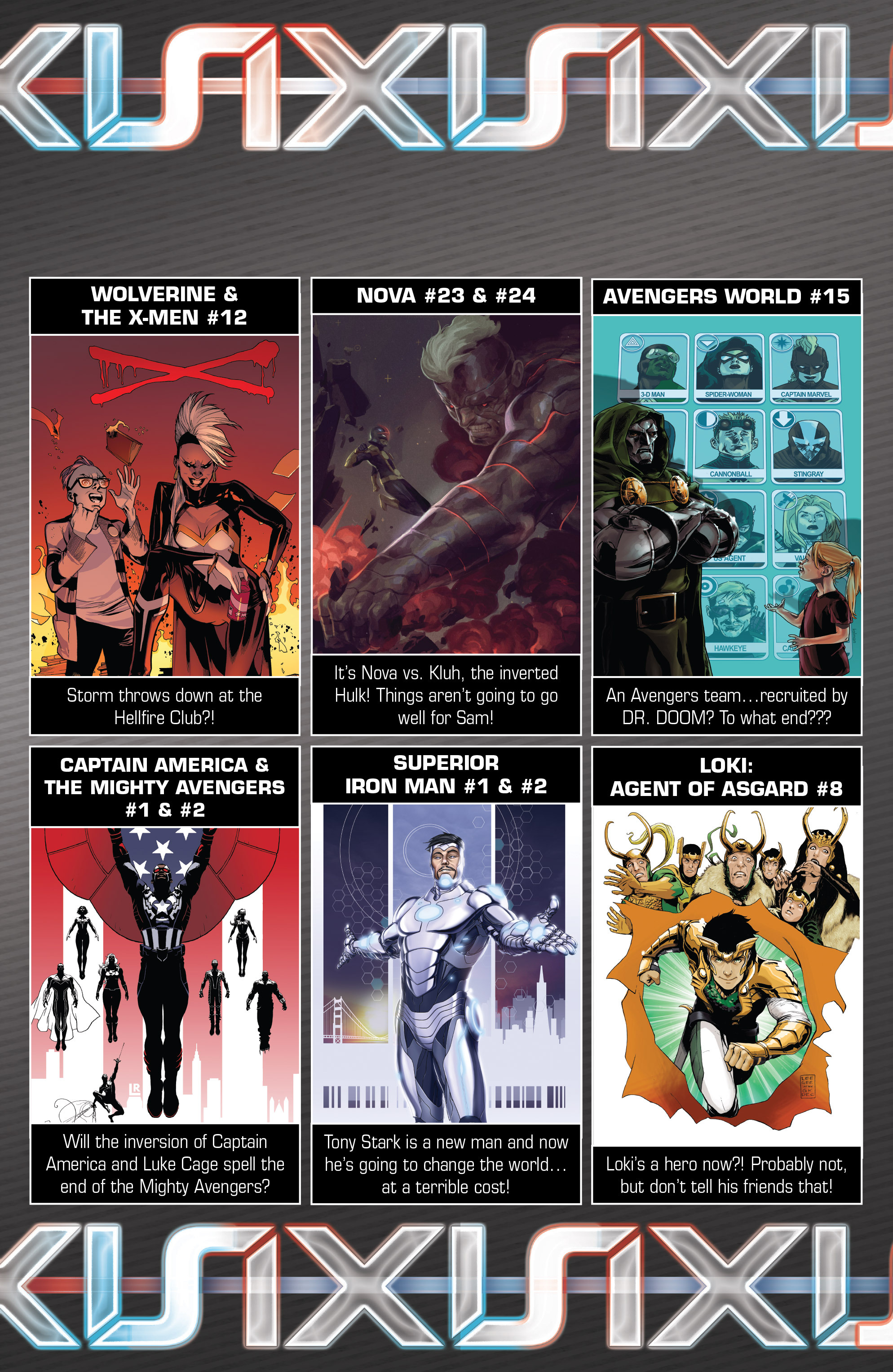Read online Avengers & X-Men: AXIS comic -  Issue #4 - 27