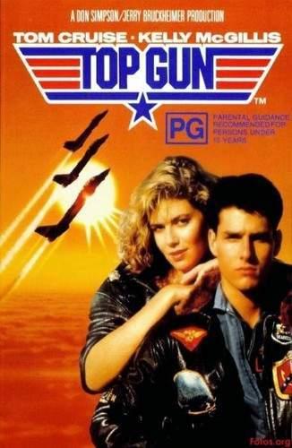 Top Gun (Ídolos del aire) (1986) [BRrip 1080p] [Latino] [Acción]