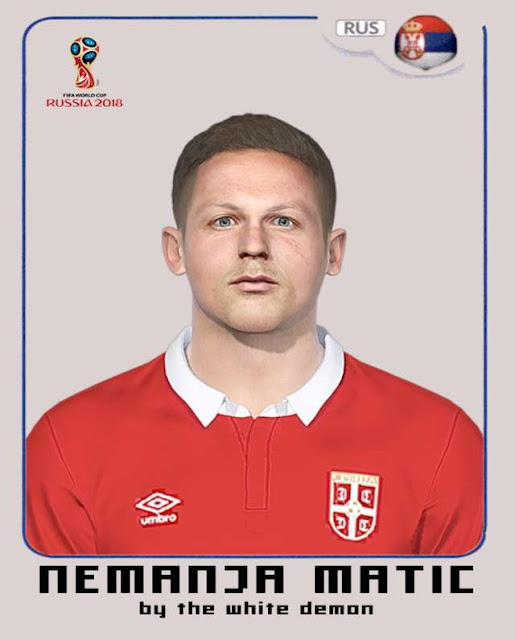 Nemanja Matic Face PES 2018