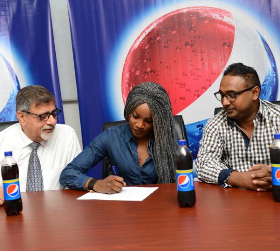Sayi Shay Pepsi Nigeria Ambassador