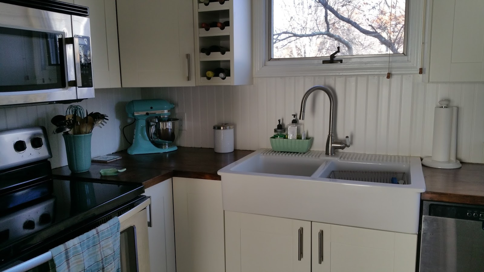 Best Finish For Butcher Block Countertop: Salt Marsh Cottage: How To Finish Butcher Block