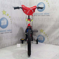 16 asagi sepeda anak bmx