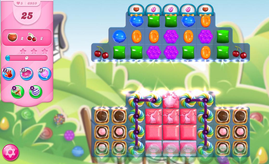 Candy Crush Saga level 6959