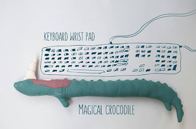 Crocodile Keyboard Wrist Rest