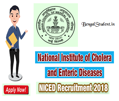 NICED Recruitment 2018 Fellow Vacancy - Apply Online - BengalStudent.in