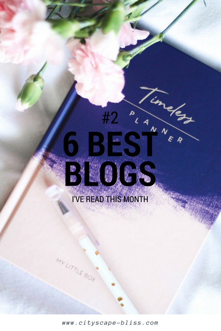 6 blogs I've actually read in January 2017
