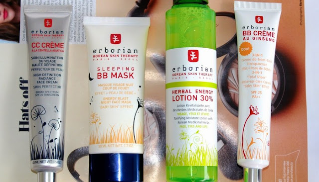 cc cream Erborian Skin Care Products