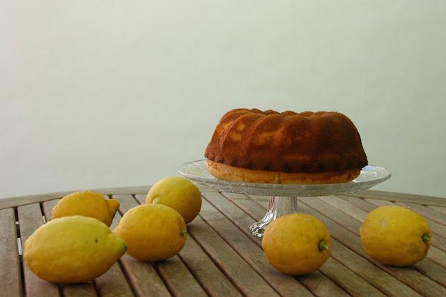 Bundt cake de llimona per esmorzar