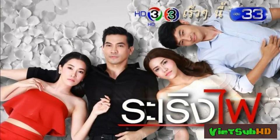 Phim Lửa Tình Trái Ngang Tập 28 VietSub HD | Ra Rerng Fai 2017