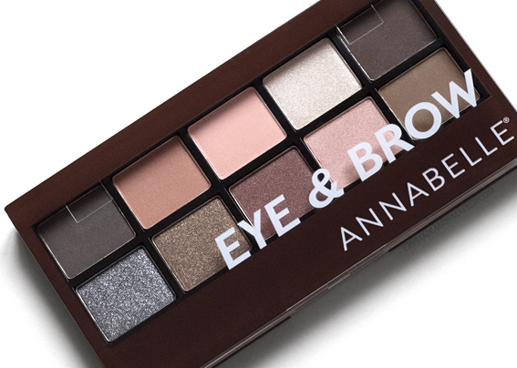 Annabelle Spring 2017 Eye Brow Palette Review