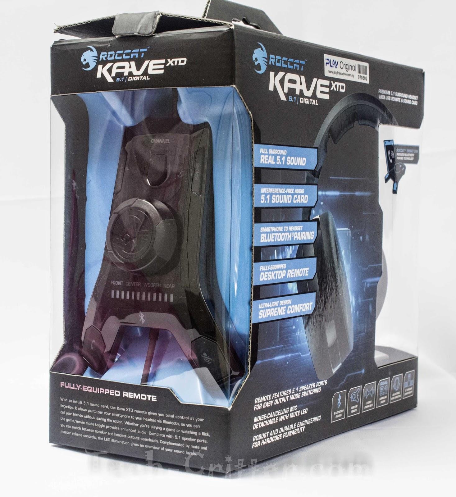 Unboxing & Review: Roccat Kave XTD 5.1 Digital Surround Sound Headset 56