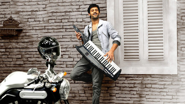 Prabhas Awesome Keyboard Playing hd Pictures