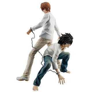 """Yagami Raito & L G.E.M. Series de """"Death Note"""" - MegaHouse"""