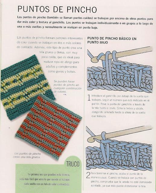 Punto Pincho de Crochet Tutorial