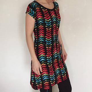 damklänning damkläder klänning sy färgglad sommarklänning