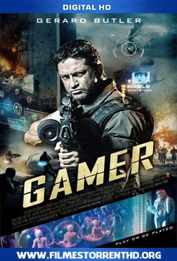 Baixar Gamer – Torrent Bluray Rip 1080p Dual Áudio 5.1 3D HSBS (2009)