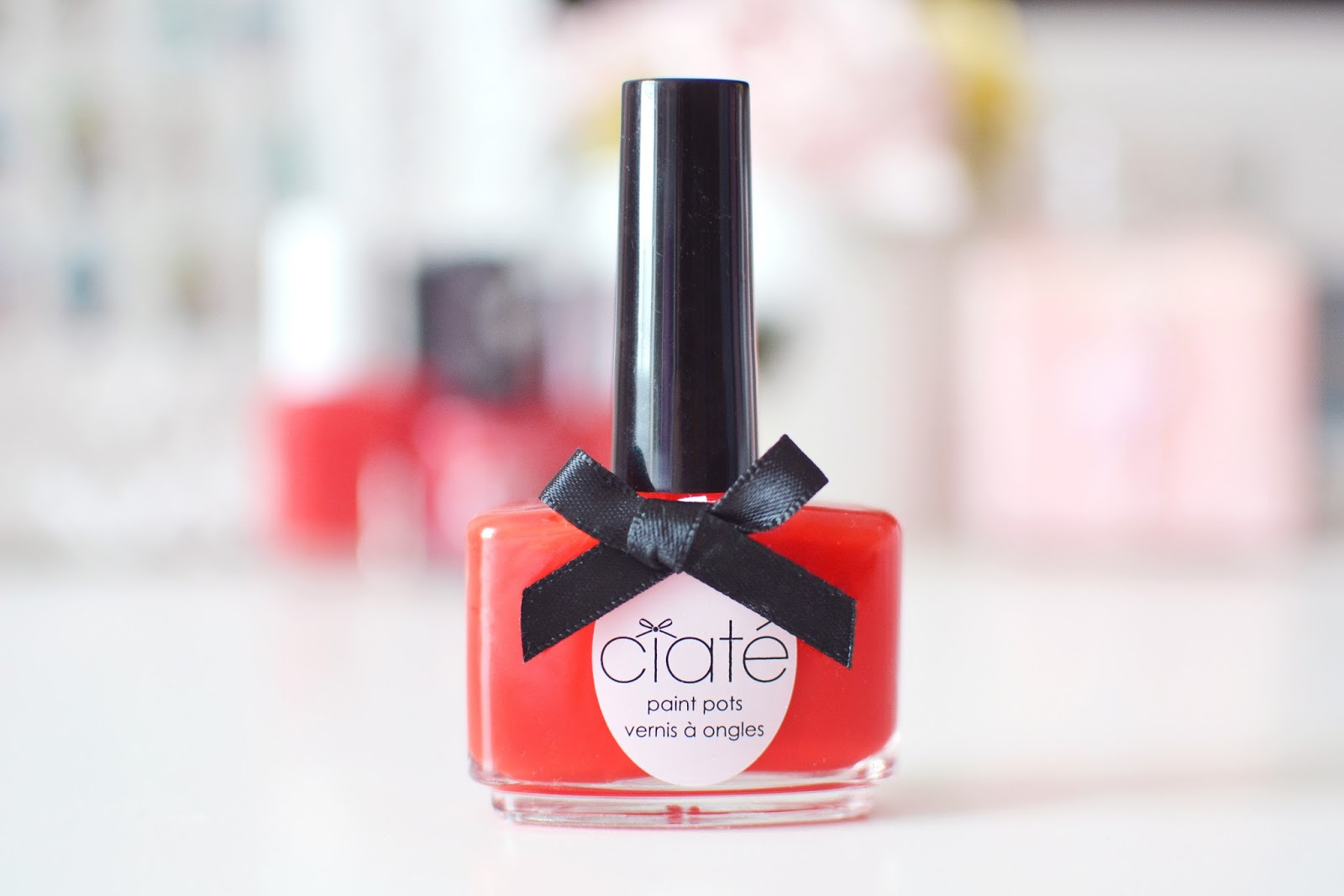 ciate red hot chilli nail polish
