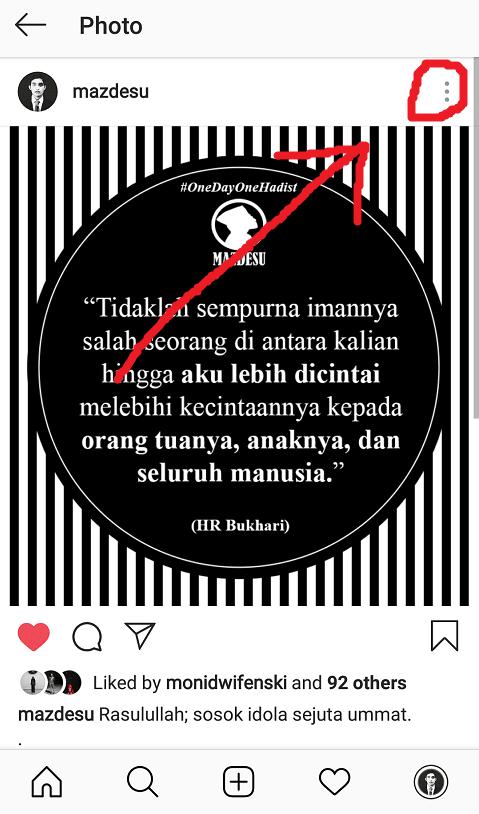Buka Menu Instagram Lainnya