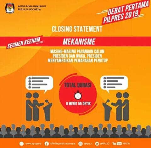 Pemilu 2019, Pilpres 2019, Jokowi-Ma'ruf, Prabowo-Sandiaga Uno